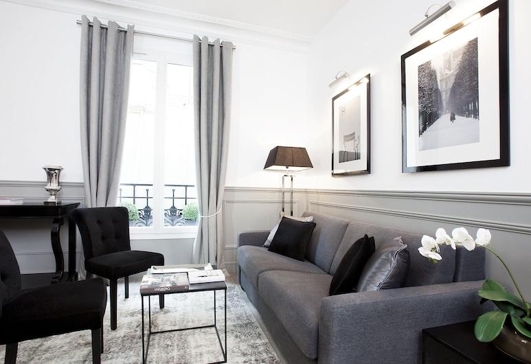 Luxury 2BR Gr-Boulevards I by Livinparis, 巴黎, 公寓, 2 間臥室, 客廳