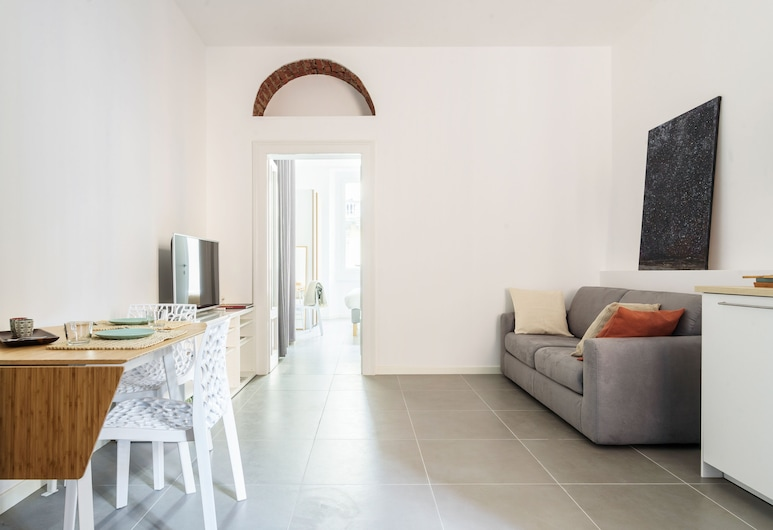Anfossi Master Guest apartment, Milan, Apartment, 1 Bedroom, Living Area