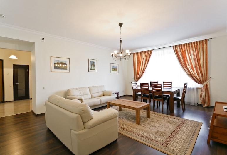 MinskLux Apartment 2 bedroom Nezavisimosti 12, Minsk, Apartment, 2Schlafzimmer, Wohnzimmer