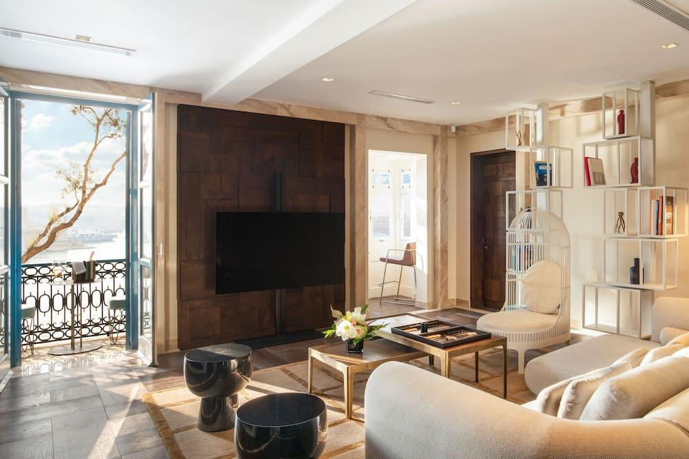 Apartmán, 2 spálne (Lucia) - Obývacie priestory