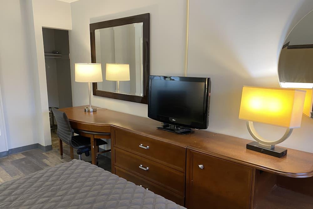 舒適單人房, 1 間臥室, 非吸煙房, 湖景 - 客廳