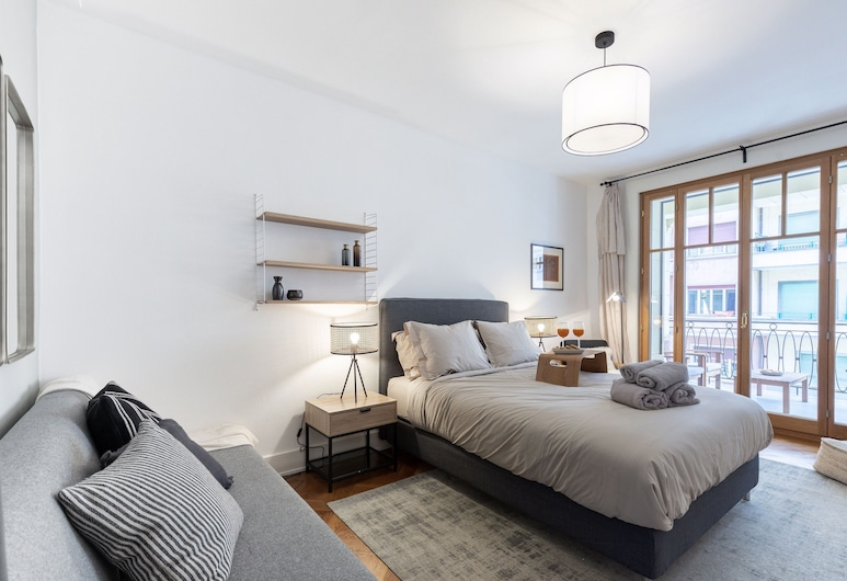 Eaux Vives Genève - Private Apartment, Ginebra, 5001. Henri-Mussard Geneva, Habitación