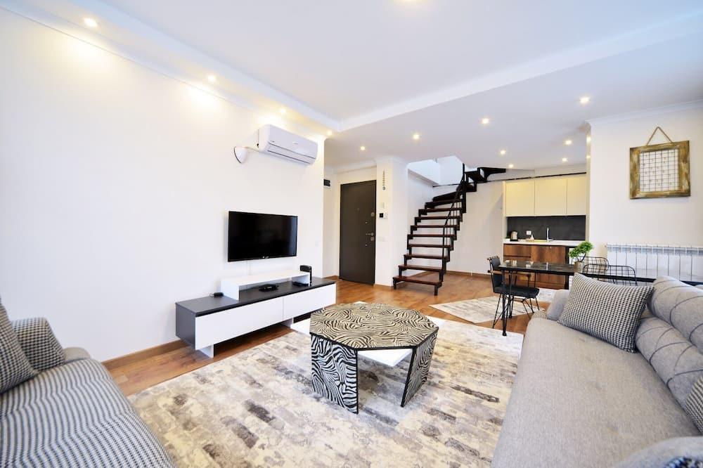 Deluxe Duplex, 2 Bedrooms - Ruang Tamu