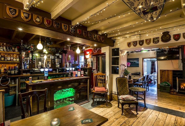 Castle Inn Rooms, Tenby, Bar do Hotel