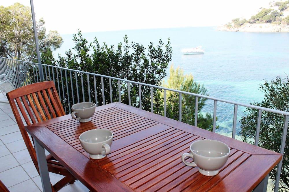 Appartement, 2 chambres, terrasse, vue mer - Balcon