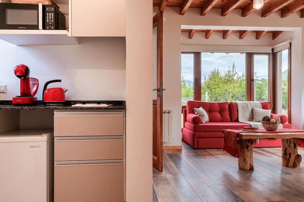 Premium Cabin - Living Room