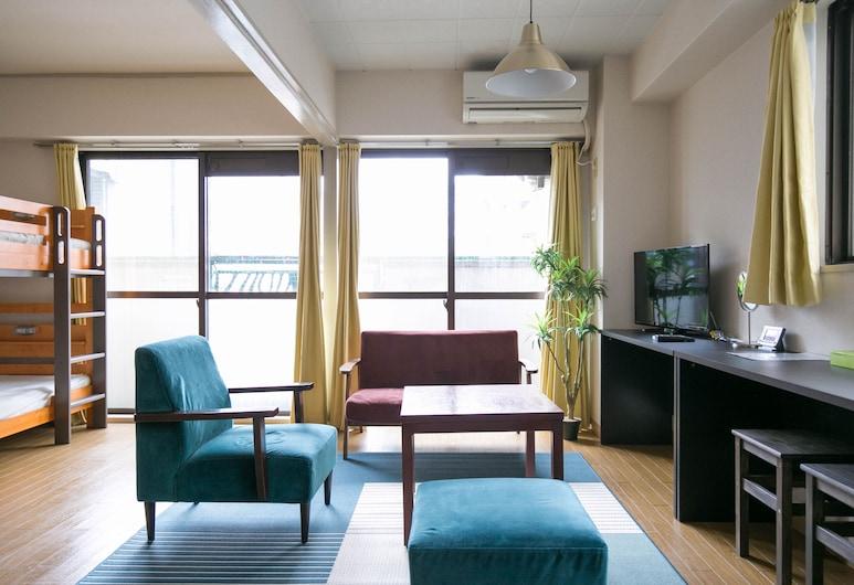 Nakasu Apartment, Fukuoka, Apartmán (301), Izba
