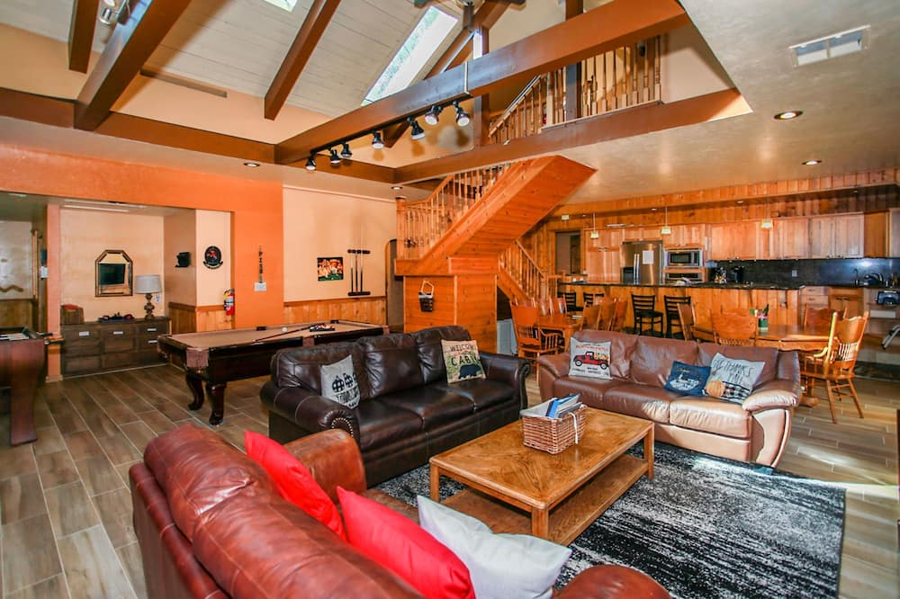 Cabaña, 5 habitaciones - Sala de estar