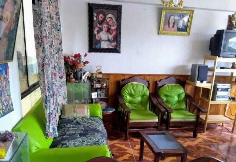Casa Hospedaje Guadalupe, Cusco, Economy-enkeltværelse - fælles badeværelse, Opholdsområde