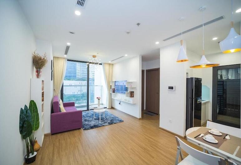 Sky View Vinhome Skylake Apartments, Ανόι, Romantic Διαμέρισμα, 1 Υπνοδωμάτιο, Περιοχή καθιστικού