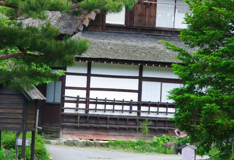 Oyado Raku, Takayama, Záhrada