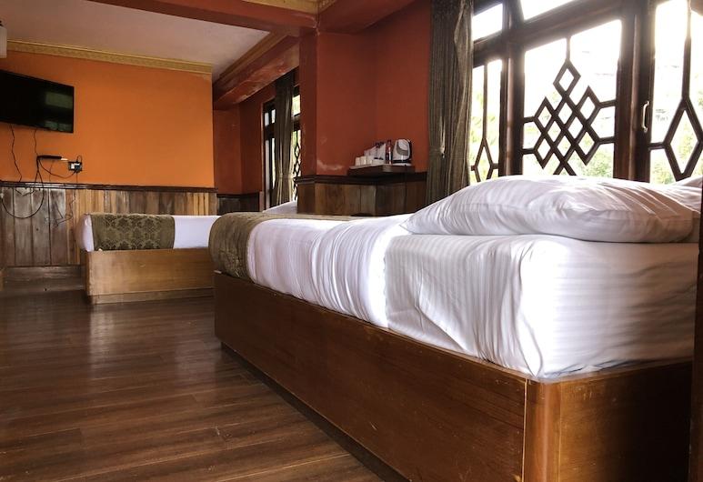 The Rope By Swifthill Hotels and Resorts, دارجيلنج, غرفة ديلوكس مزدوجة, غرفة نزلاء