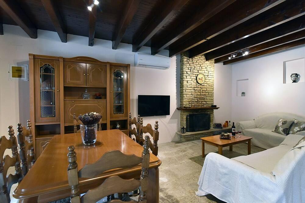 Коттедж - Зона гостиной