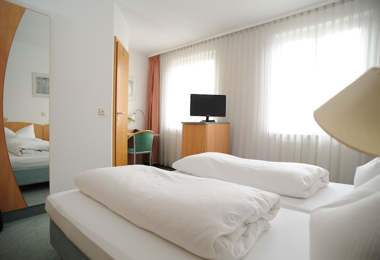 Hotel Central Classic, Stuttgart, Double Room, Guest Room