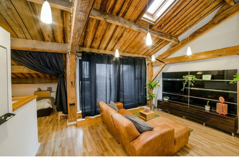 Studio (0 Bedroom) - Khu phòng khách