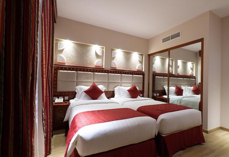Al Liwan Suites Rawdat Al Khail, Doha, Deluxe-Apartment, 2Schlafzimmer, Parkblick, Zimmer