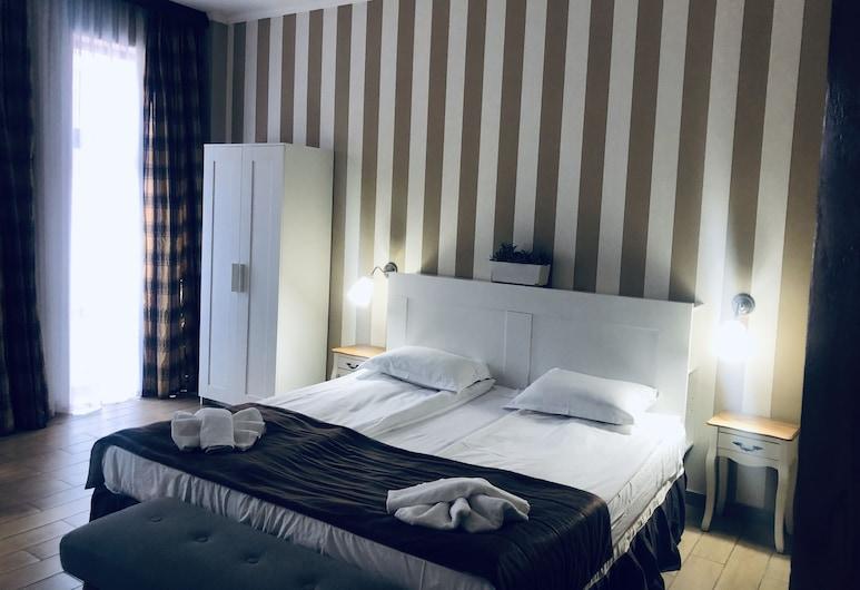 Art Hotel, Varna, Studio, Balcony, City View, Living Area