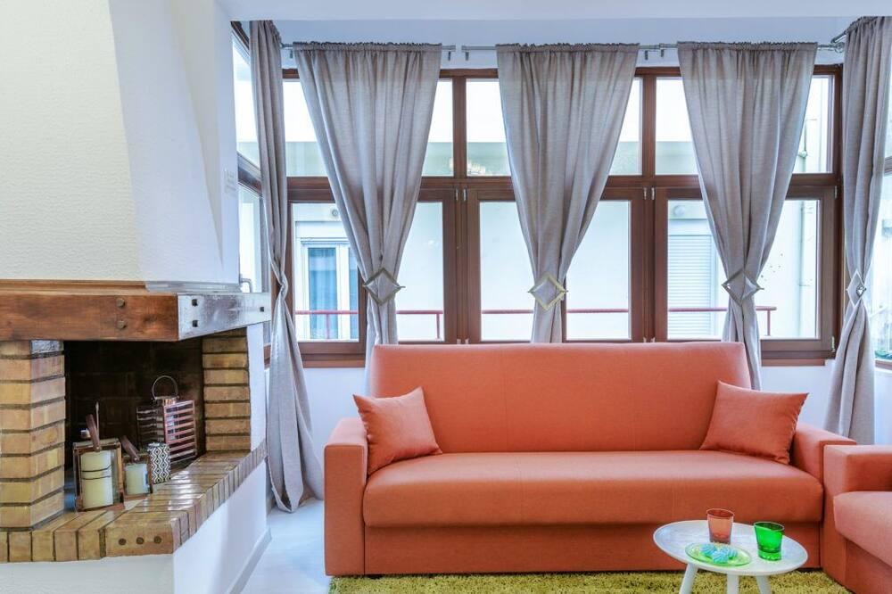 Designový apartmán - Obývací pokoj