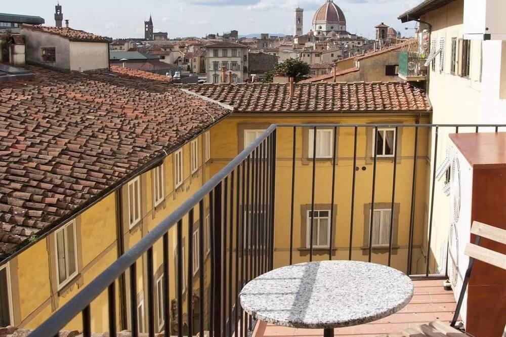 Pilsētklases dzīvokļnumurs, divas guļamistabas (Venere) - Balkons