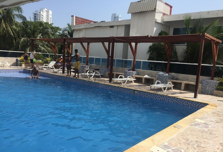 Apartment in Front of the Sea 519A, Cartagena, Piscina
