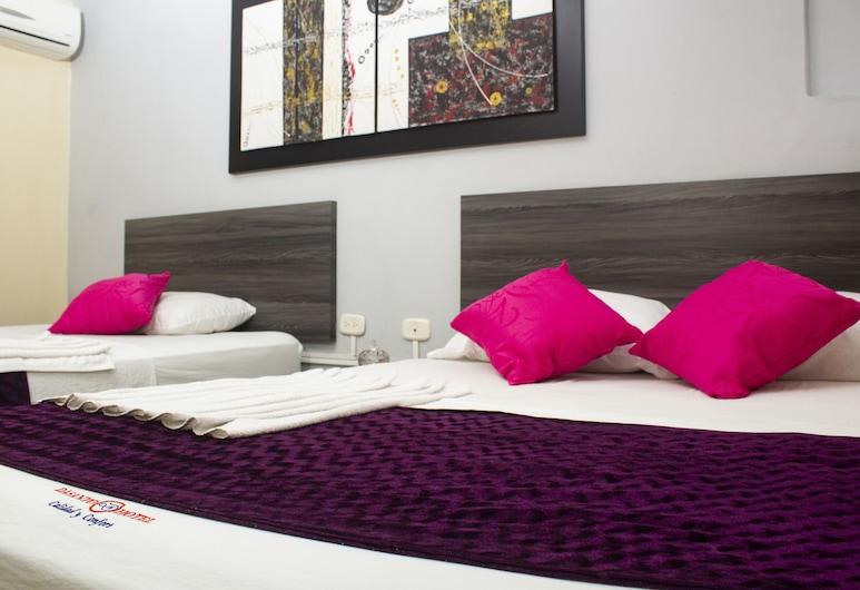 Hotel Dasanto, Barranquilla, Triple Room, Guest Room
