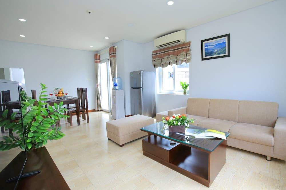 Apartamento Familiar, 2 Quartos, Fumadores, Torre - Área de Estar