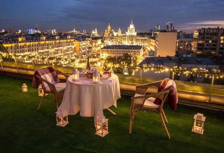 Taganka Hotel Moscow, Moscou, Terrasse/Patio