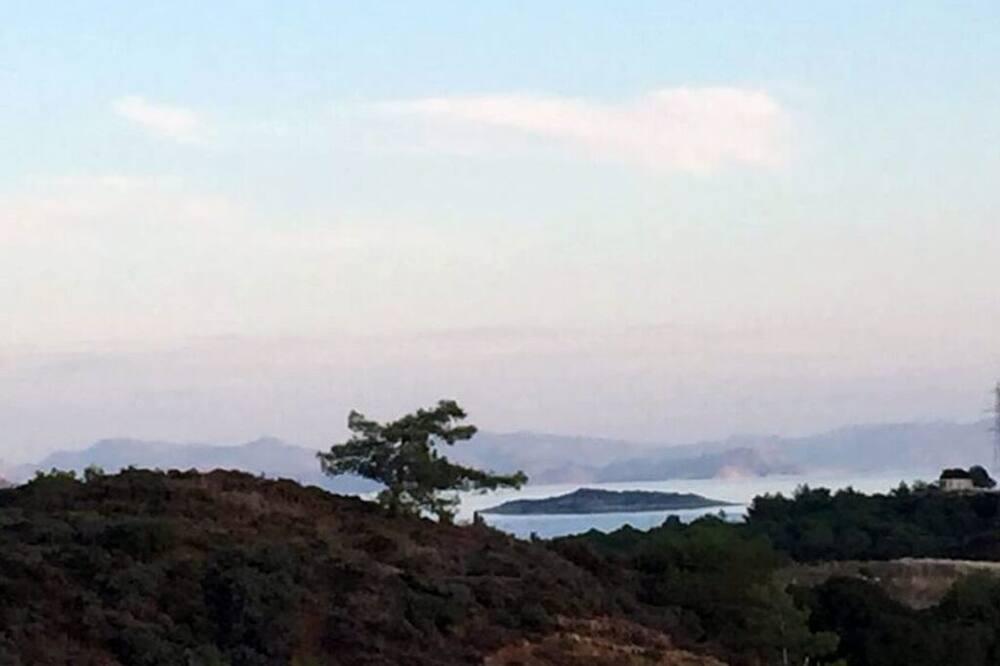 Economy Daire, Deniz Manzaralı, Bahçeli - Plaj/Okyanus Manzarası