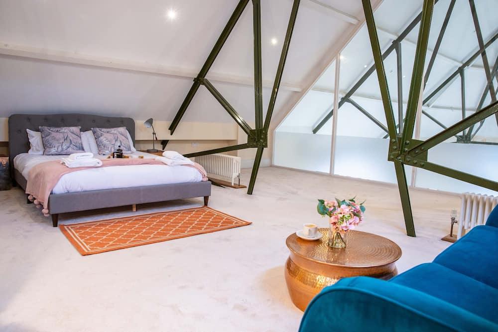 Ateliérové apartmá typu Premium - Pokoj