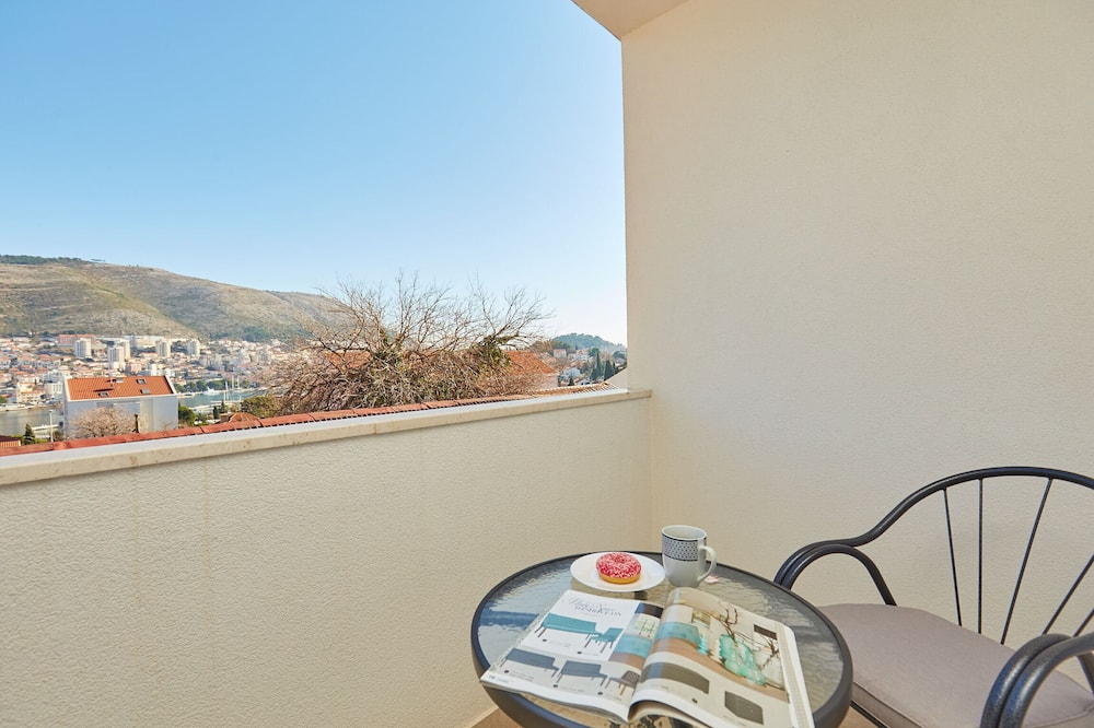 City-Apartment, Balkon, Meerblick (1 Bedroom) - Balkon