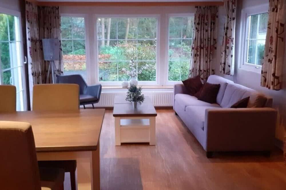 Nhà gỗ tiện nghi đơn giản (3 Persons) - Phòng khách