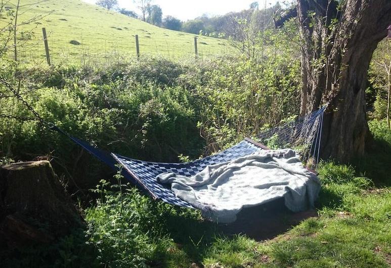 Wriggles Brook Gypsy B&B, Hereford, Garden