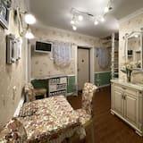 Apartamentai su patogumais (4) - Svetainės zona