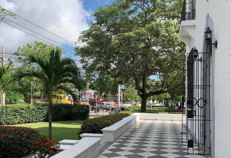 Casa Santacoa Eventos y Hospedaje - Hostel, 巴蘭基亞, 花園