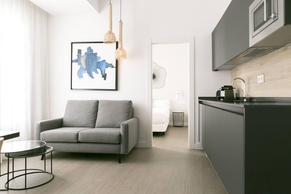 Студія-люкс - Житлова площа