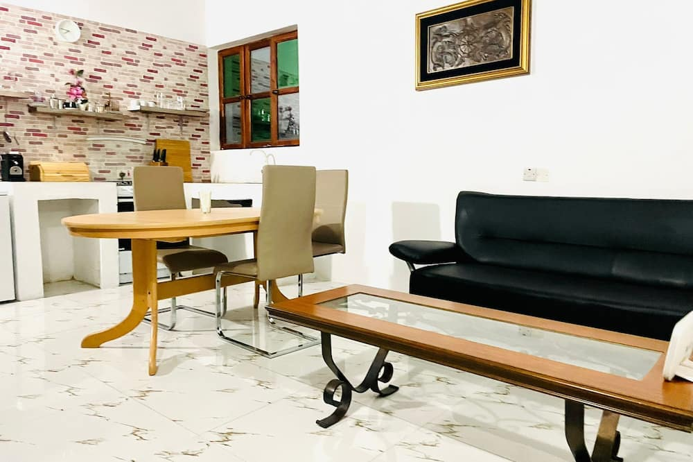 Familienbungalow - Wohnbereich