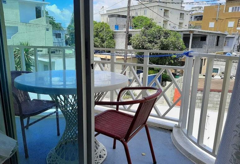 Latanier Beach Hotel, Grand-Baie, Divvietīgs numurs, Skats no balkona