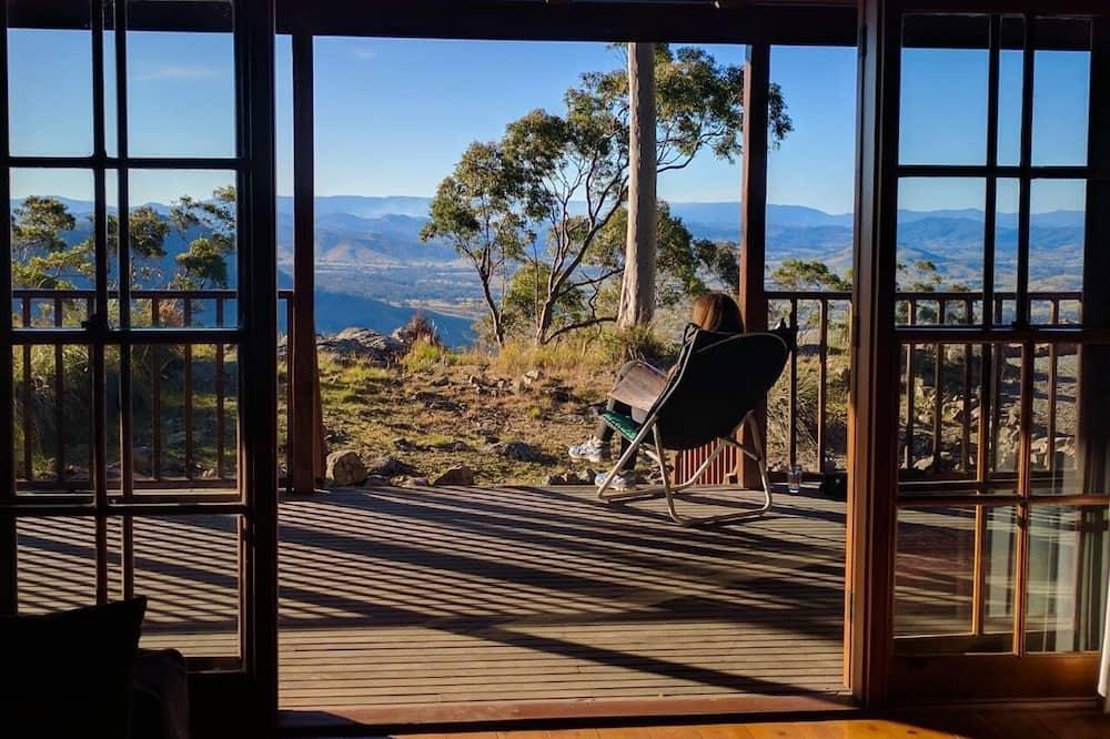 Cabane Familiale, 3 chambres, vue montagne - Balcon