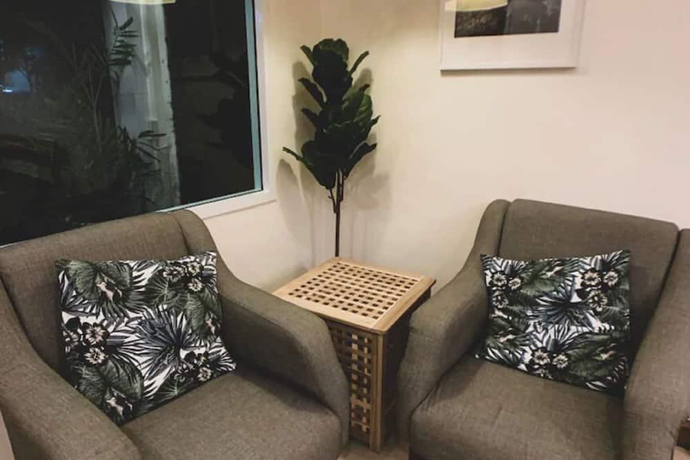 Triple Room, Balcony - Living Area