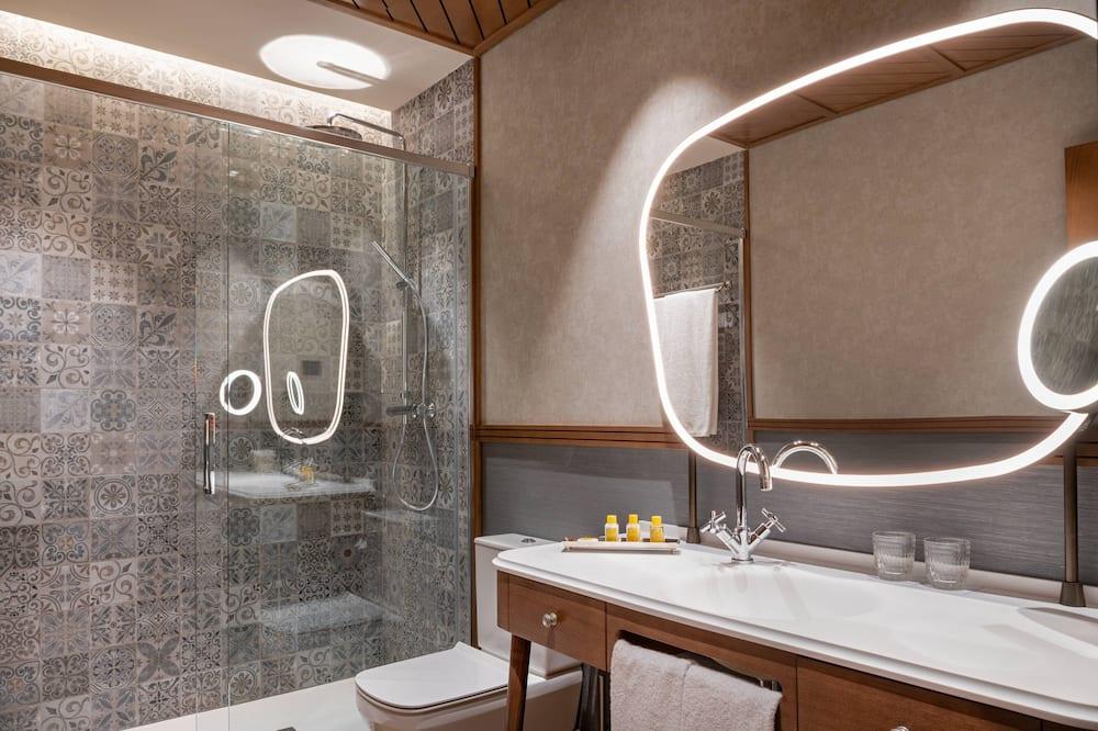 Superior-Zimmer, 1King-Bett, Nichtraucher, Stadtblick - Badezimmer