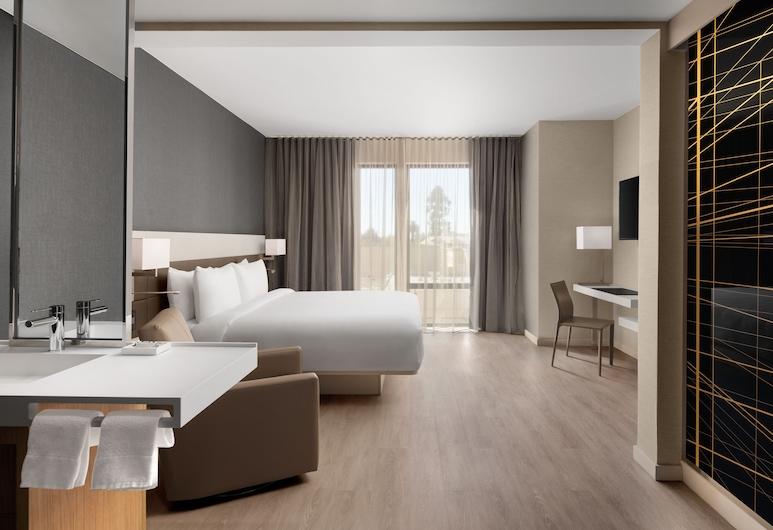 AC by Marriott Santa Rosa Downtown, 聖羅莎, 客房, 1 張特大雙人床, 非吸煙房, 客房