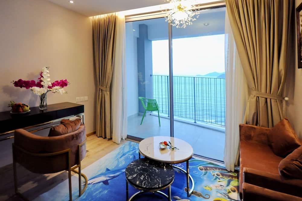 Augstākās klases dzīvokļnumurs - Dzīvojamā istaba