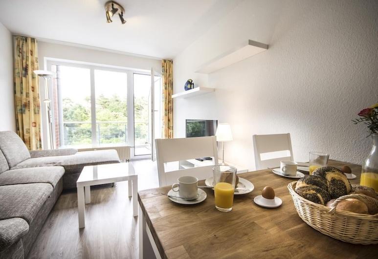 Strandhaus Nordseebrandung Fewo A1.4, Cuxhaven, Apartment, Living Room