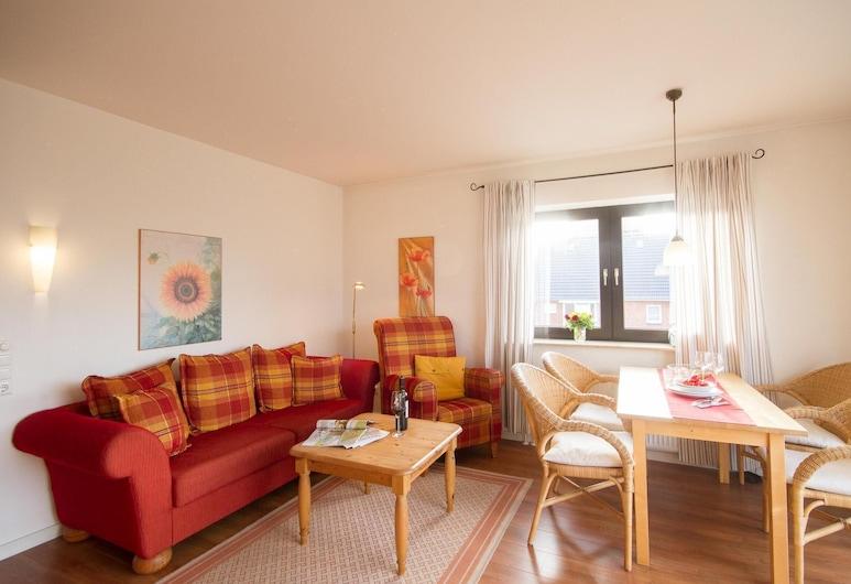 Jungnamen Sand Wohnung 7, Wittduen, Apartment, Living Room