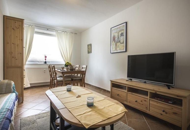 Ferienwohnung Seaside Neue Reihe, Cuxhaven, Apartment, Living Room