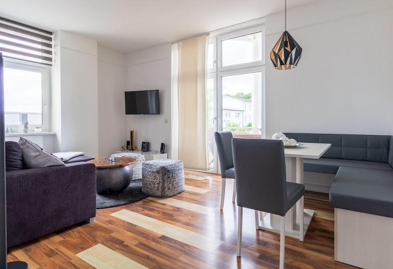 Haus Godewind Typ 3.1, Binz, Apartamento, Sala de Estar