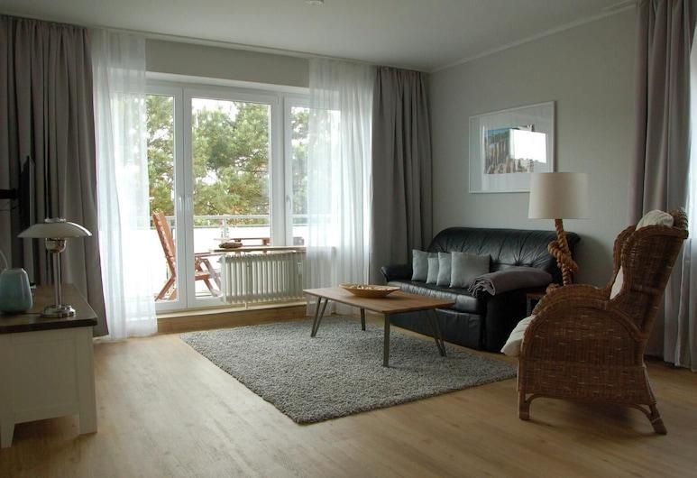 Fußläufig zum Strand: Wohnung Tidenblick mit Balkon, Wittduen