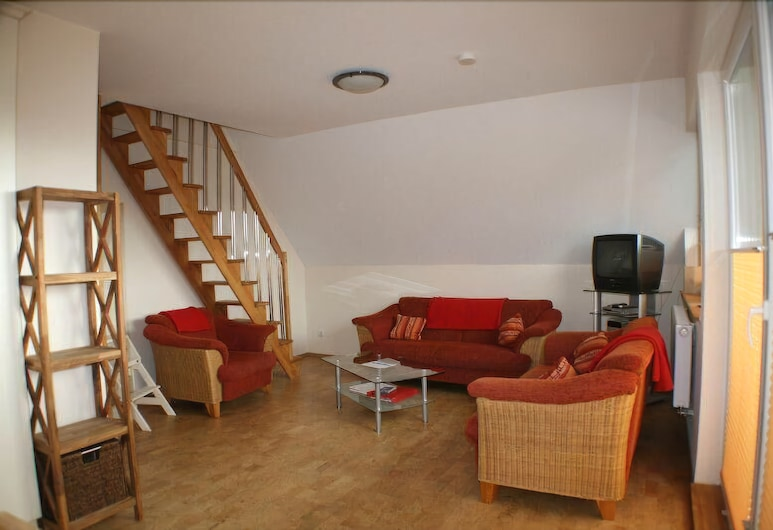 Nickelshus Whg. Lars, St. Peter-Ording, Apartament, Salon