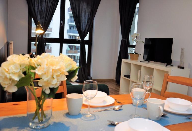 Prudentia Apartments Jana Kazimierza, Βαρσοβία, Διαμέρισμα, Μπαλκόνι, Περιοχή καθιστικού