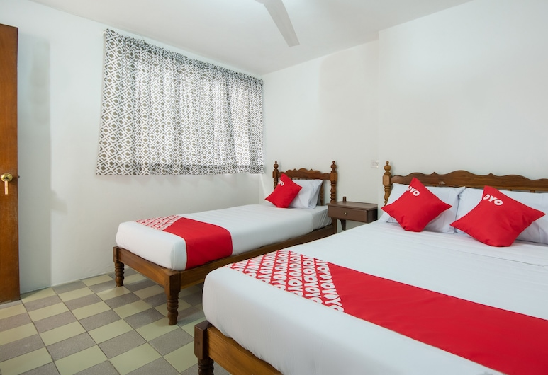 Hotel El Arabe, Xalapa, Habitación triple estándar, Habitación